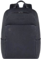 Piquadro Black Square Backpack night blue backpack