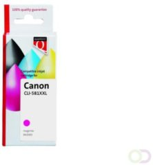 Inkcartridge Quantore Canon CLI-581XXL rood