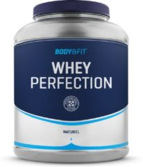 Body & Fit Whey Perfection - Eiwitpoeder / Eiwitshake - 2270 gram - Naturel (smaakloos)