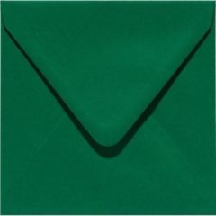 Donkergroene Papicolor Original Envelop Dennengroen 6 stuks 140 x 140 mm