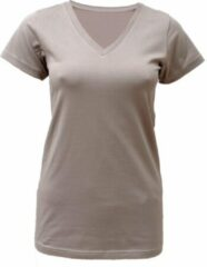 "Yoga-T-Shirt ""Snake"" - taupe S Loungewear shirt YOGISTAR"