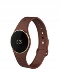 MYKRONOZ ZeCircle Fitnessband Tracker Uhr braun