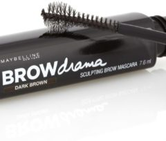Donkerbruine Maybelline Brow Drama Sculpting Brow Mascara (Various Shades) - Dark Brown