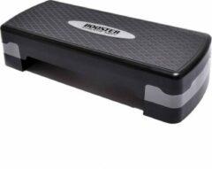 Grijze Booster Athletic dept.- Aerobic step - Fitness bank voor thuis - Stepbank - Trainingsstep - Stepper