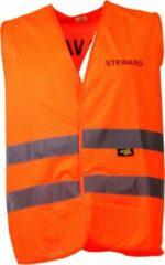 Joggy Safe Veiligheidsvest Steward Unisex Oranje Maat L