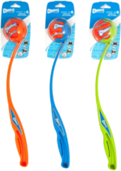 Chuckit Sport Ball Launcher Blauw&Oranje&Groen - Hondenspeelgoed - Medium
