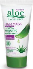 Pharmaid Aloe Treasures Hair Maks Aloë Vera   Haarmasker   Normaal en Vet Haar 150ml