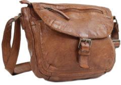 Bruine Bear Design CL32609 Cognac Tassen schoudertassen