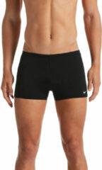 Zwarte Nike Swim SQUARE LEG BOXER BLACK - Mannen - Maat 50