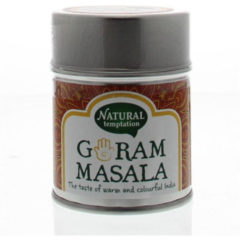 Nat Temptation Garam Masala Blikje Natural Spices (50g)