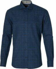Jac Hensen Overhemd - Modern Fit - Blauw - 4XL Grote Maten