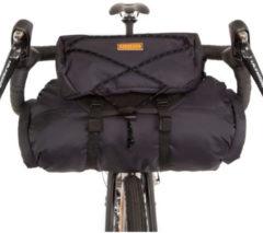 Restrap - Bar Bag mit Packsack und Food Pouch 17 - Stuurtas maat 17 l, zwart