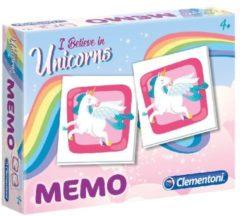 Clementoni Memory Eenhoorns Multicolor 48 Kaarten