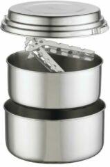 MSR - Alpine 2 Pot Set - Pan maat 1,5 l / 2 l, grijs/wit/zwart