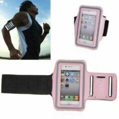 GadgetKing Sportband iPhone 4/4S hardloop sport armband - ROZE