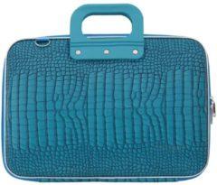 Blauwe Bombata COCCO 13 inch Laptoptas – 13,3 inch / Turquoise