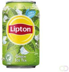Groene Frisdrank Lipton Ice Tea groen blikje 0.33l