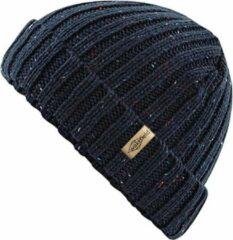 Speckle Muts Blauw - Blauwe Beanie - Wakefield Headwear - Mutsen