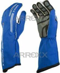Arrox Handschoenen race monokleur blauw