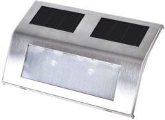 Roestvrijstalen VidaXL – Wandlamp – Solar – set van 4