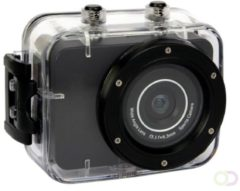 Zwarte Velleman LEISURE - Action camera - Full HD - 1080p - 30fps - 5MP - waterproof
