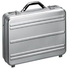 Zilveren Alumaxx Mercato Notebook briefcase Zilver