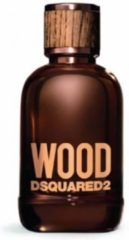 MULTIBUNDEL 2 stuks Dsquared2 Wood Men Eau De Toilette Spray 100ml