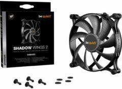 BeQuiet Shadow Wings 2 PC-ventilator Zwart (b x h x d) 140 x 140 x 25 mm