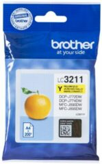 Brother Inktcartridge Geel, 200 Pagina's - Oem: Lc-3211y