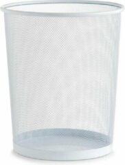 Witte Zeller - Waste Paper Basket, mesh, white