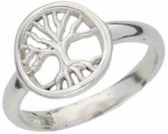 Zilveren St Justin Ltd Tree of Life doorboorde ring maat 65
