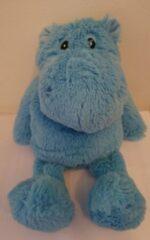 Blauwe Uppi Warmteknuffel met lavendel 30cm - Nick Nijlpaard