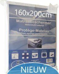 Witte Bedlin Matrasbeschermer Waterdicht 160x200cm (2persoon)