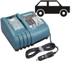 Makita accu oplader met autostekker voor elektrisch gereedschap DC18SE