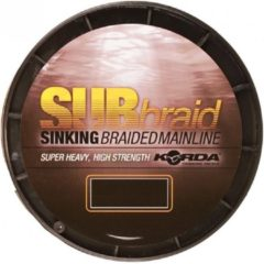 Donkergroene Korda Sub Braid - 20lb - 0.34mm - 450m