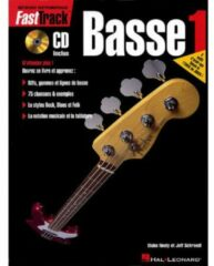 De Haske FastTrack Basse 1 basgitaarboek (Franstalig)