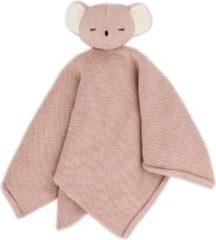 Roze Baby Bello Kiki the Koala Knuffeldoek - Rose Glow