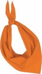 Oranje Kariban Bandana Unisex Nekwarmer Maat One size