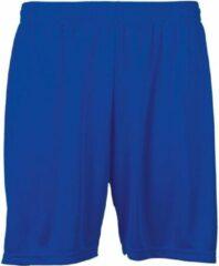 Jartazi Sportbroek Unisex Polyester Royal Blauw Maat S