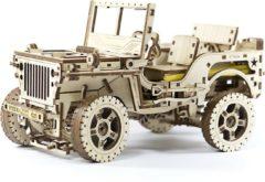 Wooden City Wood city houten bouwpakket Jeep 4x4