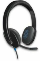 Zwarte Logitech H540 - USB Headset - Windows & Mac