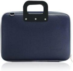 Donkerblauwe Bombata Medio Hardcase Laptoptas 13 inch Dark Blue
