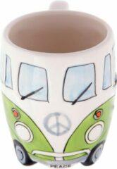 Puckator Volkswagen kampeerbus camper mok beker koffiemok kleur groen vakantie camping