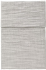 Licht-grijze CottonBaby Ledikantlaken soft lichtgrijs