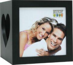 Deknudt Frames S68HF2 Sfeervolle theelichthouder in zwart