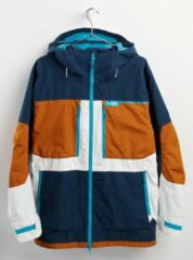 Burton Frostner heren snowboardjas dress blue / true penny / stout white