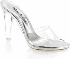 Fabelicious Fabulicious Muiltjes met hak -37 Shoes- CLEARLY-401 US 7 Zwart