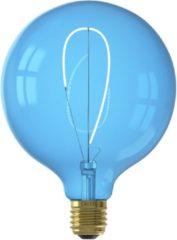 Calex Nora LED colors Globe G125 soft U-filament 220-240V 4W E27 Sapphire Blue