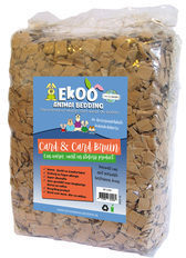 Ekoo animal Bedding Ekoo Bedding Card N Card Bruin Inhoud - 30 Liter