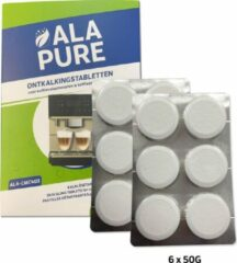 Witte Alpure 2x Miele Ontkalkingstabletten 10178330 / 5626050 van Alapure ALA-CMC403